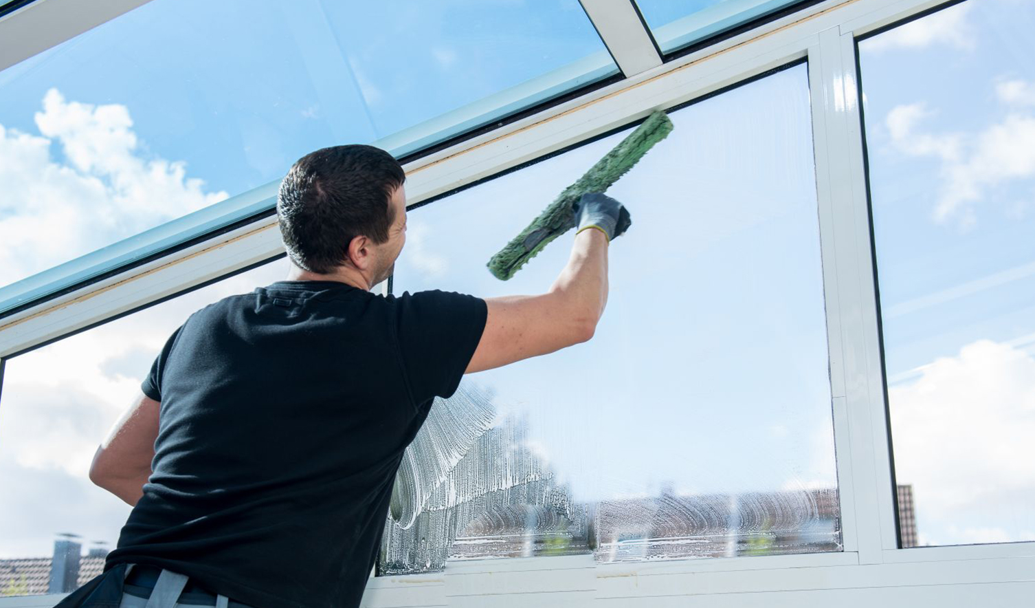 Building Glass Cleaning
