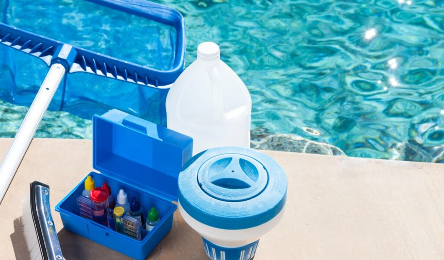 Swimming Pool Cleaning & Disinfection